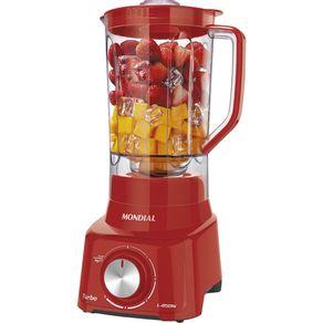 Liquidificador-850W-27L-Mondial-L-850-FR-com-Filtro-e-5-Velocidades-Vermelho