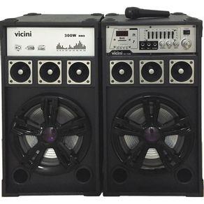 Conjunto-2-Caixas-Acusticas-300WRMS-Vicini-VC-7300-com-MP3.-FM.-Bluetooth.-Microfone.-Entradas-USB.-SD-e-Guitarra