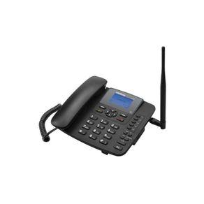 Telefone-Celular-de-Mesa-3G-Intelbras-CF6031-com-ID-e-Viva-Voz-Preto
