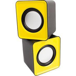 Caixa-de-Som-6WRMS-Pisc-1861-USB-Amarela
