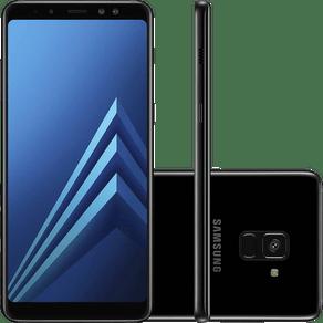 Smartphone-Samsung-Galaxy-A8--A730F-64GB-com-Dual-Chip.-Tela-6-.-4G.-Wi-Fi-e-Dual-Frontal-16MP-8MP-Preto