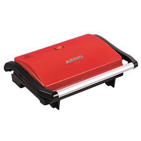 Grill-Arno-Compact-Uno-GUNO-Vermelho-127V