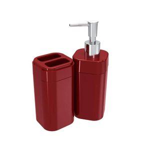 Kit-para-Banheiro-2-Pecas-Coza-Splash-Vermelho-Bold