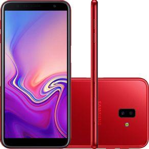 Smartphone-Samsung-Galaxy-J6-Plus-J610G-32GB-Dual-Chip-Tela-6--4G-Wi-Fi-Dual-13-5MP-Vermelho
