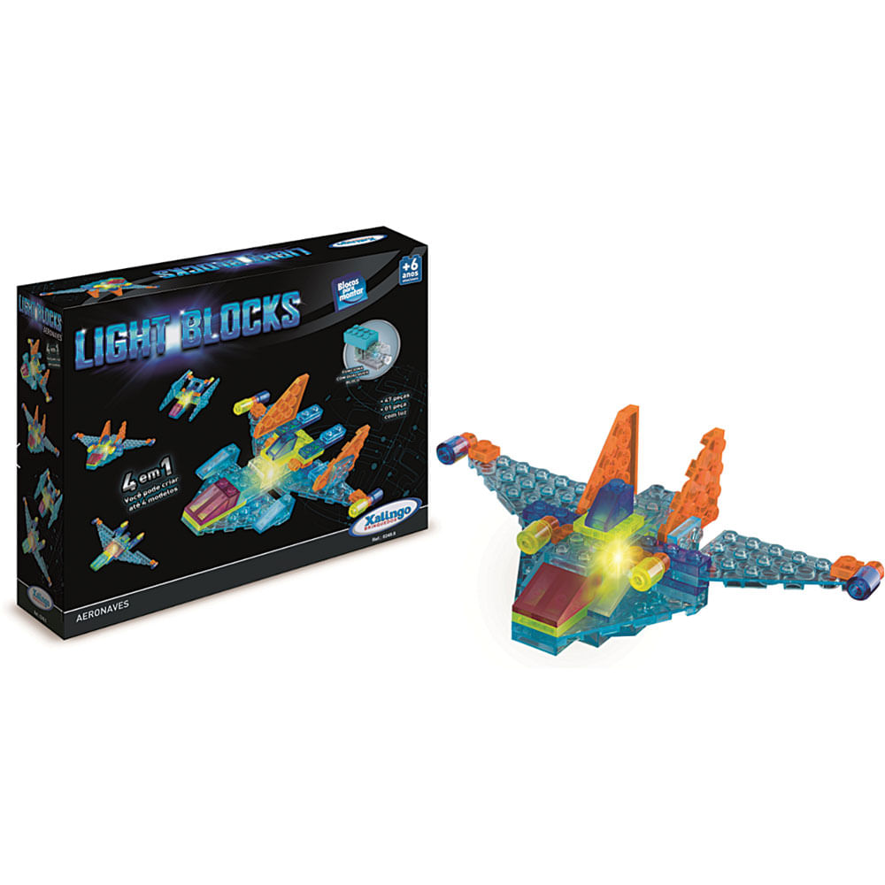 //www.casaevideo.com.br/blocos-de-montar-48pecas-light-blocks-aeronaves-249-xalingo/p