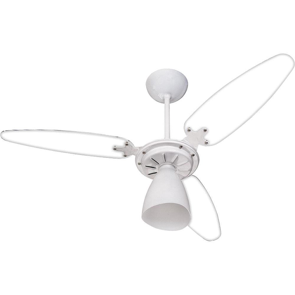 2f20546d1 Ventilador de Teto 3 Pás Ventisol Wind Light Pêra Branco - Casa e Video
