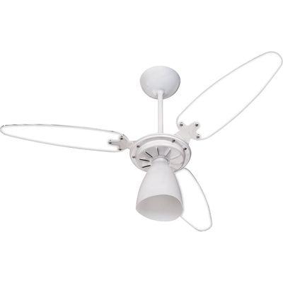 9ce523826 Ventilador de Teto 3 Pás Ventisol Wind Light Pêra Branco - Casa e Video