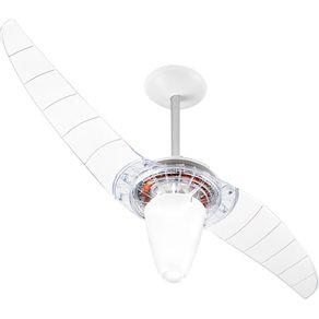 Ventilador-de-Teto-Spirit-201-com-2-Pas-de-Policarbonato-Cristal-e-Dimmer-de-3-Velocidades-127V-