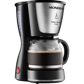 Cafeteira-18-Xicaras-Mondial-Dolce-Arome-C-30-Preta-e-Prata-127V