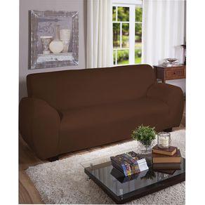 Capa-para-Sofa-3-Lugares-Arte---Cazza-Malha-Gel-Marrom-