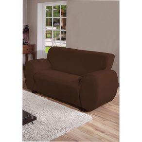 Capa-para-Sofa-2-Lugares-Arte---Cazza-Malha-Gel-Marrom-
