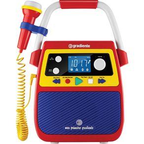 Radio-Infantil-Bluetooth-Meu-Primeiro-Gradiente-Karaoke-GMP104-