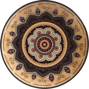 Prato-de-Ceramica-Raso-27cm-Porto-Brasil-Coup-Tigre-