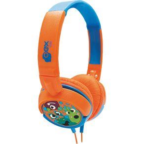 Fone-de-Ouvido-com-Alca-OEX-Kids-Boo--HP301-Laranja-com-Azul-