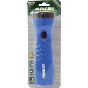 Lanterna-Recarregavel-Alfacell-5-Leds-ALL51104-Bivolt-