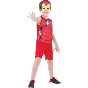 Fantasia Infantil Regina Homem de Ferro 00e22fd62b7d0