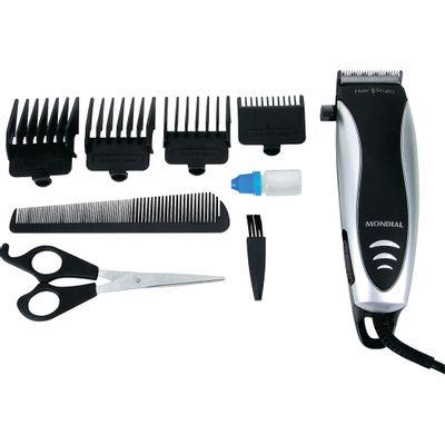 8ddce061d Conjunto de Cortar Cabelo Mondial Hair Stylo CR-02 - Casa e Video