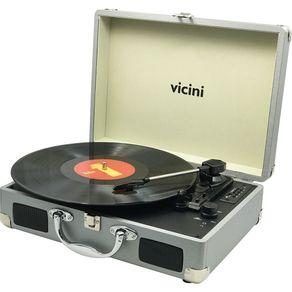 Toca-Disco-Bluetooth-10WRMS-Vicini-Classic-VC-285-Entradas-USB-e-SD-Prata