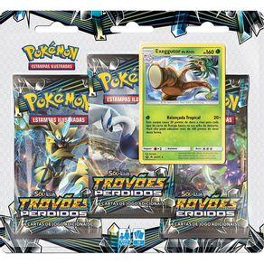 Jogo-de-Cartas-Pokemon-Copag-Blister-Triplo-99242-Sol-e-Lua-Trovoes-Perdidos-