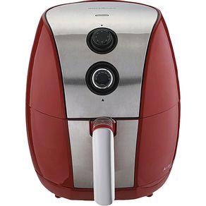 Fritadeira-Eletrica-Britania-sem-Oleo-3.2L-Air-Fry-BFR01VI-com-Timer-Vermelha-e-Prata-127V-
