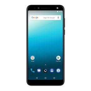 Smartphone-Quantum-LIO--QC84-16GB-Dual-Chip-Tela-6--4G-Wi-Fi-Camera-12MP-com-Maquininha-de-Cartao-Preto