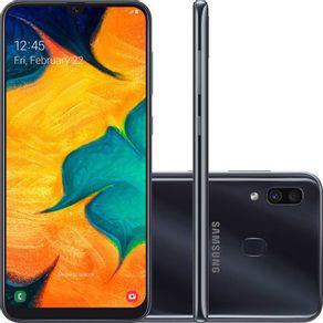 Smartphone-Samsung-Galaxy-A30-A305G-64GB-Dual-Chip-Tela-6.4-4G-Wi-Fi-Camera-Dupla-16MP-5MP-Preto