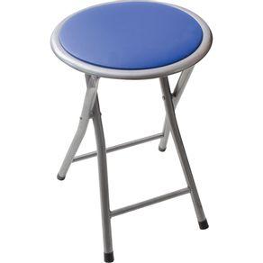 Banqueta-Dobravel-Cazza-Azul
