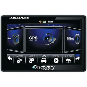 GPS-Automotivo-4.3-Aquarius-Discovery-Slim-MTC3653-com-TV-Digital-e-Alerta-de-Radares