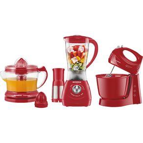 Kit-Liquidificador-Batedeira-e-Espremedor-Mondial-Especial-Gourmet-Red-2-KT-70-127V
