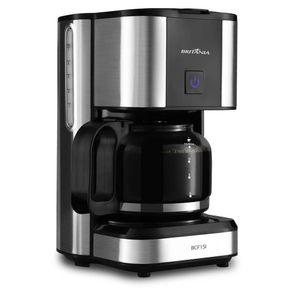 Cafeteira-Eletrica-15-Xicaras-Britania-BCF15I-Prata-e-Preta-127V