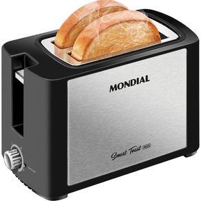 Torradeira-Eletrica-Mondial-Smart-Toast-Inox-T-13-Preta-e-Prata-127V-
