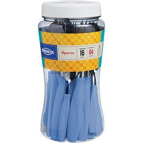 Faqueiro-16-Pecas-com-Pote-Brinox-Itaparica-Azul