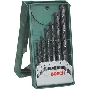 Jogo-de-Brocas-para-Metal-com-7-Pecas-X-Line-Bosch