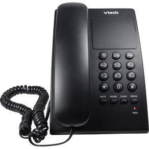 Telefone-Digital-Vtech-VTC-105-Preto