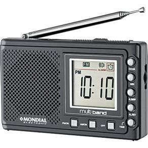 Radio-Relogio-Digital-Mondial-Multi-Band-II-RP-04-AM-e-FM
