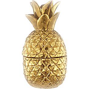 Abacaxi-Decorativo-Ceramica-20.5cm-Mart-Dourado