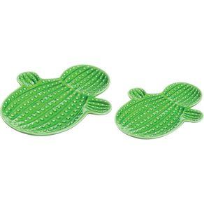 Kit-2-Pecas-Cactos-Decorativos-Ceramica-Mart-Verde