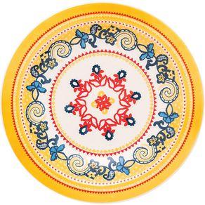 Prato-de-Ceramica-Fundo-23cm-Oxford-La-Pollera