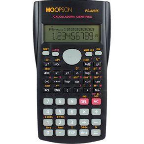 Calculadora-Cientifica-12-Digitos-Hoopson-PS-82MS-Preta