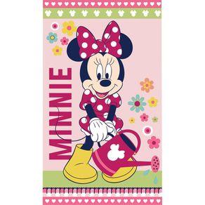 Toalha-de-Banho-Infantil-Minnie-Santista-Flower-Verde-