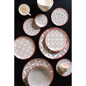 Prato-de-Ceramica-Sobremesa-20cm-Porto-Brasil-Platinum-Geometria-
