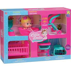 Boneca-Little-Dolls-Divertoys-Casinha-8023-
