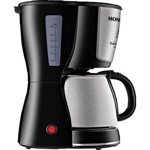 Cafeteira-Eletrica-30-Xicaras-Mondial-Dolce-Arome-C-37-com-Jarra-Inox-Preta-e-Prata-220V