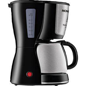 Cafeteira-Eletrica-30-Xicaras-Mondial-Dolce-Arome-C-37-com-Jarra-Inox-Preta-e-Prata-127V