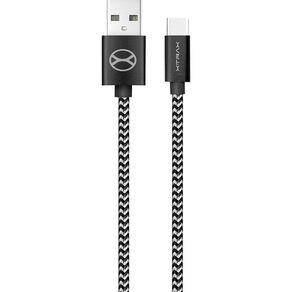 Cabo-USB-Tipo-C-3m-Xtrax-Tecido-Preto-1642774