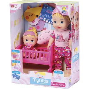 Boneca-My-Little-Collection-Divertoys-Brincando-de-Pijama-8030-1644084