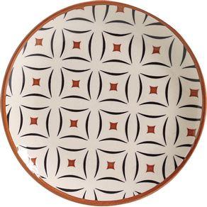 Prato-de-Ceramica-Sobremesa-20cm-Porto-Brasil-Platinum-Geometria-1630580c
