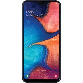 Smartphone-Samsung-Galaxy-A20-A205-32GB-Dual-Chip-Tela-6.4--4G-Wi-Fi-Camera-Dual-13MP-5MP-Azul