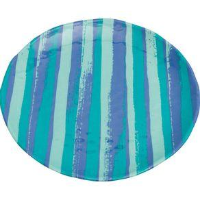 Prato-de-Melamina-Raso-Ondulado-27-5cm-Listrado-Azul-1568426