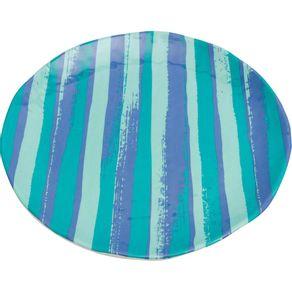 Prato-de-Melamina-Sobremesa-22cm-Listrado-Azul-1568442